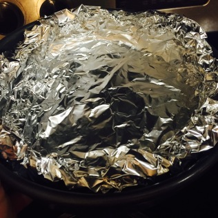Tinfoil Makeshift Pan