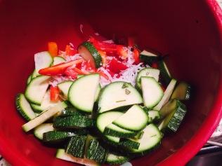 Veggies + Coconut + Spices